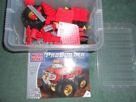 MEGA BLOKS PRO BUILDER MONSTER TRUCK - Like Lego