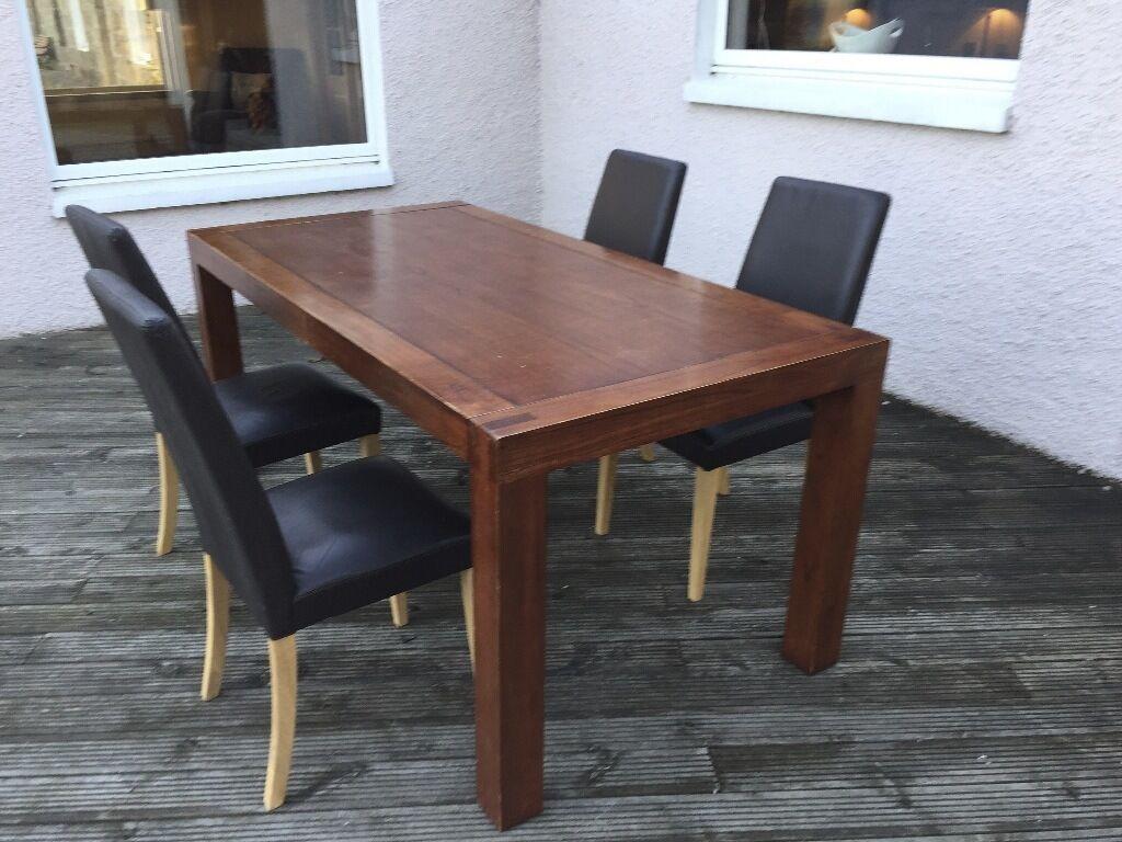 Walnut veneer wood dining table 1800 x 900mm in  : 86 from www.gumtree.com size 1024 x 768 jpeg 116kB