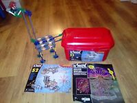 K'nex 52 Model Building Set & Ferris Wheel Building Set