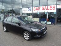ONLY 49K MILES! 2009 09 FORD FOCUS 1.6 ZETEC 5D 100 BHP **** GUARANTEED FINANCE **** PART EX WELCOME