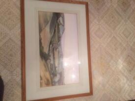 Original watercolour views around Powerstock