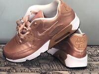 Nike Air Max 90's Rose Gold 5.5