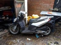 Aprillia sportcity moped scooter
