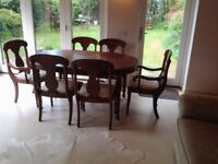 Dansk Dining Room Table and Chairs