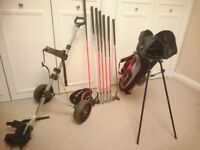 Dunlop Junior Golf set with trolley