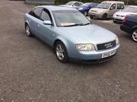 Audi A6 2.4 petrol 2002 02 blue 475