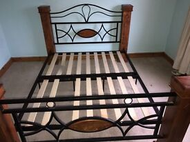 Wooden bed frame KINGSIZE