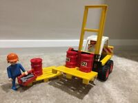 Playmobil Forklift Truck 3506 - with original box