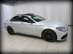 2016 Mercedes Benz C63 S AMG V8 BI TURBO w/ PREMIUM, INTELLIGENT