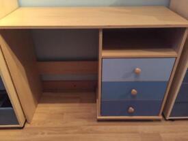 Child's Desk - Blue