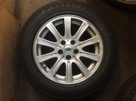 """X2 Range Rover 18"""" alloys and Tyres"""