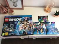 BRAND NEW LEGO DIMENSIONS BUNDLE PS4