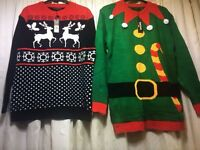 Brand new Christmas jumpers