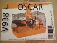 New and boxed Hamster / rodent cage - Oscar V938 model