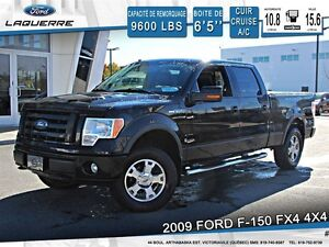 2009 Ford F-150 **FX4*4X4*CUIR*TOIT*CRUISE*A/C 2 ZONES**