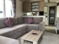 2 BEDROOM STATIC CARAVAN FOR SALE SITED ON CHERRY TREE HOLIDAY PARK NR GREAT YARMOUTH NORFOLK