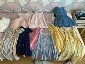 Girls bundle of summer clothes range
