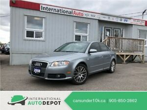 2008 Audi A4 2.0T | S-LINE | AWD | LEATHER | 2 SETS OF TIRES