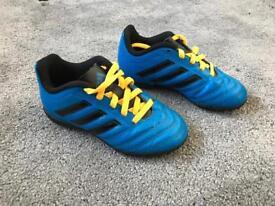 Children's size 10 football boots AstroTurf
