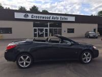 2008 Pontiac G6 GT, CONVERTIBLE ,LEATHER, GREAT CONDITION, WON'T