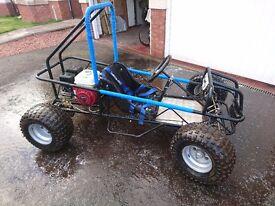 Wasp off road buggy Honda GX160 motor part exchange/swap