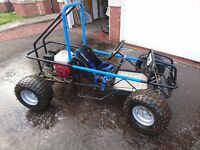 Wasp off road buggy Honda GX160 motor part exchange/swap