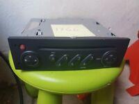 Renault cd/ radio player