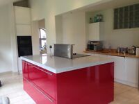 Used kitchen and island fully working order