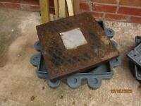 Cast iron manhole / inspection chamber cover