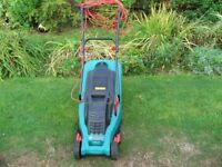Bosch Rotak 34 1400w Lawn Mower In Good Working Order And Condition