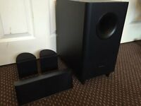 PIONEER 3.1 SPEAKERS SET, 1 SUBWOOFER & 3 SPEAKERS, EXCELLENT SOUND AND AS NEW CONDITION.