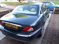 Jaguar xtype in good condition .British racing green .m.o.t.till 16/2/19 .800 o.n.o
