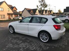 BMW 1 Series Pearl White