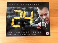 24 - Seasons 1-8 and Redemption DVD box-set