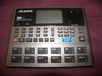 Alesis SR18 / SR-18 / Professional High-Definition Drum Machine with Bass and Effects.