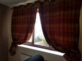 46 x 70 ring top curtains