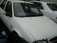 FORD FIESTA,,1998,,WITH TOW-BAR,DRIVING ALL PARTS