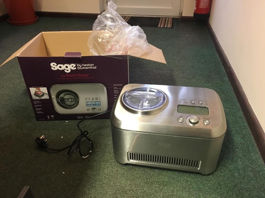 Sage ice cream maker NEW