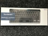 Job Lot 8 x SANDSTROM Bluetooth Wireless Keyboard SKBSWITCH15 RRP £29