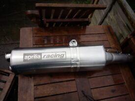2002 aprilia rsv milie 1000 standard end can exhaust