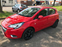 2016 Vauxhall Corsa 1.3 eco VXR 5Dr Diesel Hatchback Red Look like new