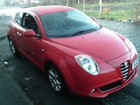 2010 10 ALFA ROMEO MITO 1.4 LUSSO 3DR ** MOT DECEMBER 2018 ** LEATHER INTERIOR ** REDUCED PRICE **