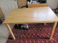 1 x new kitchen table unused only taken out of box to take pic