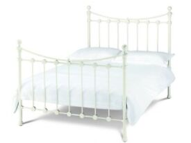 Alice double bed frame with mattress