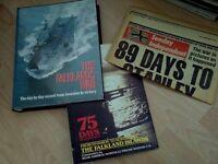 Falklands war books