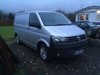 2015 vw transporter van 1 owner silver