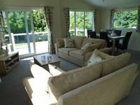 New Luxery Lodge 12 month stunning woodland park by the coast Devon