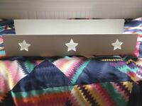 Next star shelves, white, girls bedroom, excellent condition