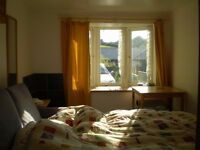 Sunny, warm , quiet room near Beaumaris with ensuite shower room and off road parking.