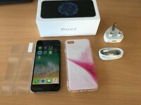iphone 6 64 gb grey unlocked to any network with box and accessories